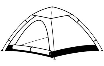 350x222 9 Camping Clipart By Mr Guera's Art Studio Teachers Pay Teachers