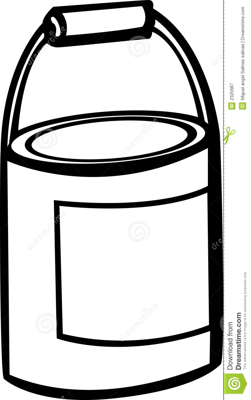815x1300 Clipart Paint Can