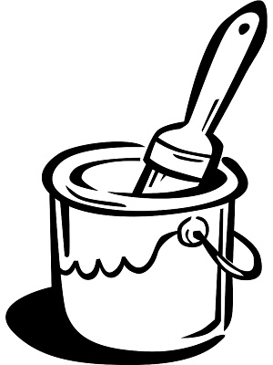 300x400 Paint Can Clip Art Many Interesting Cliparts