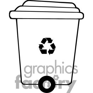 300x300 Recycle Clipart Black And White Clipart Panda