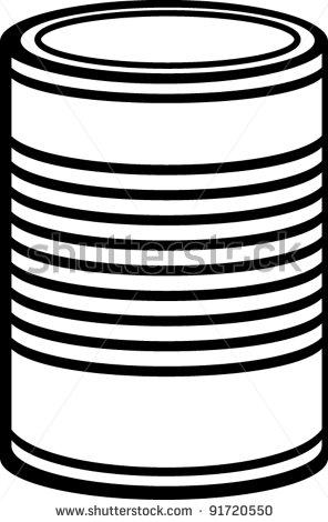 296x470 Tin Can Clipart