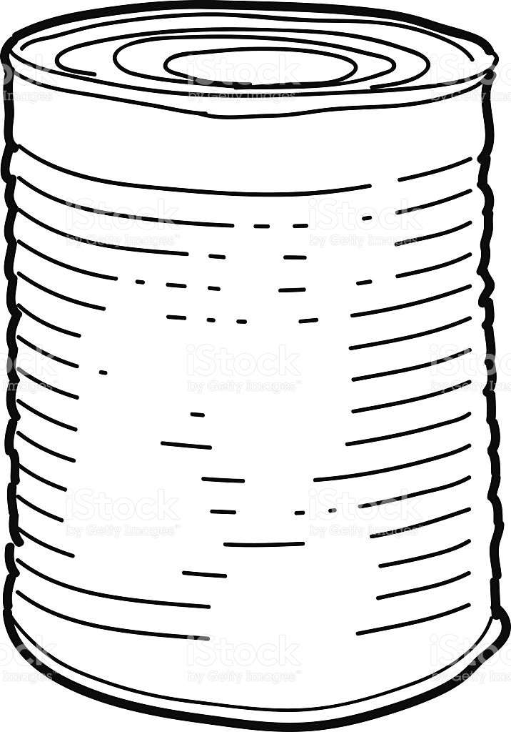 716x1024 Can Clipart. Clipart Info Can
