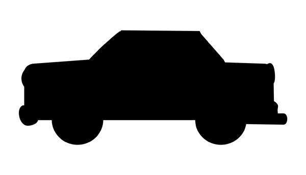600x344 Car Black And White Auto Black And White Clipart