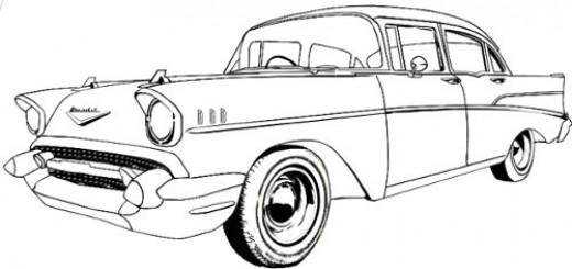520x245 Cars Drawings