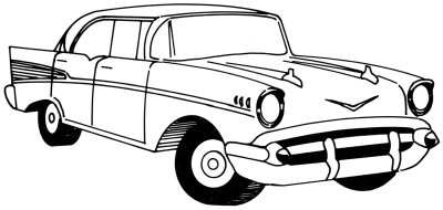 400x190 How To Draw A 1957 Chevy Howstuffworks