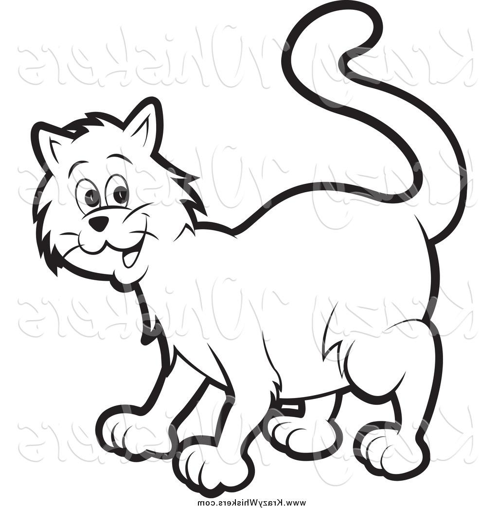 1024x1044 Best Critter Clipart Of Happy Black And White Cat By Lal Perera Photos