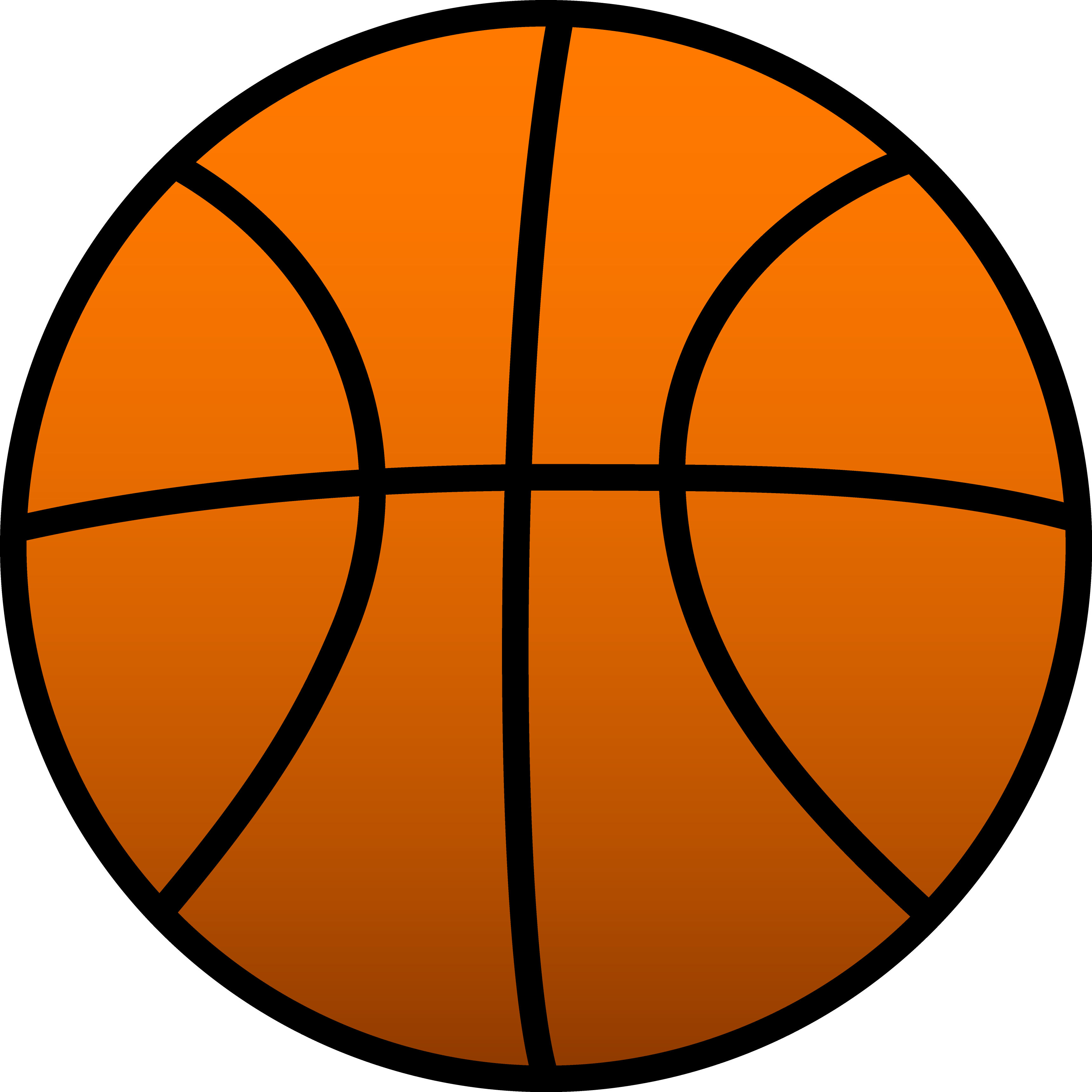 3437x3437 Basketball Clipart Images