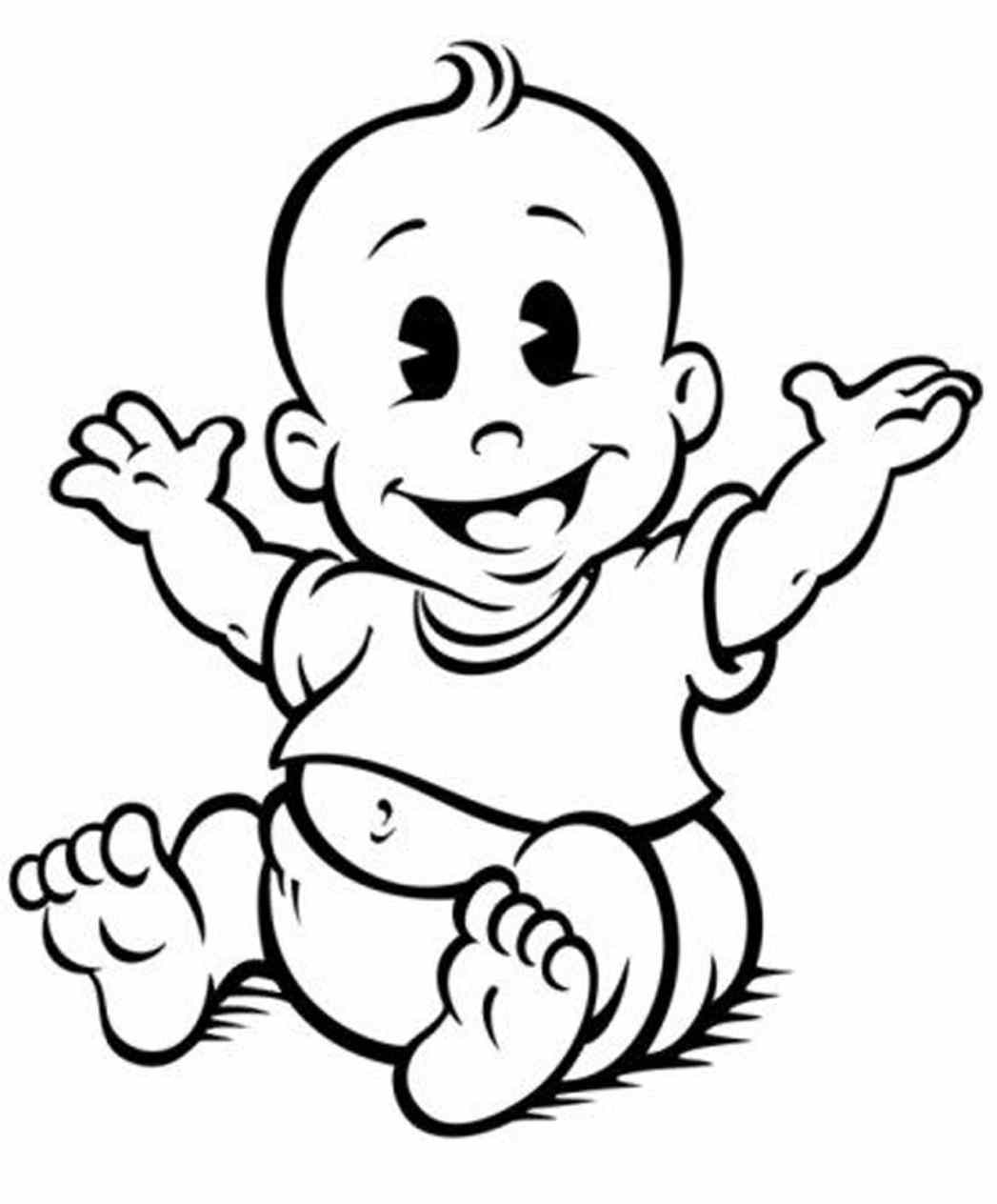 1047x1264 Clipart Baby Baby Shower Boy Clipart Black And White Shower