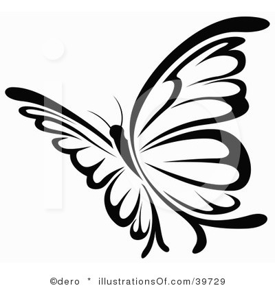 400x420 Clipart Butterfly Free