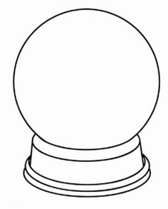 236x294 Snow Globe Clipart Black And White