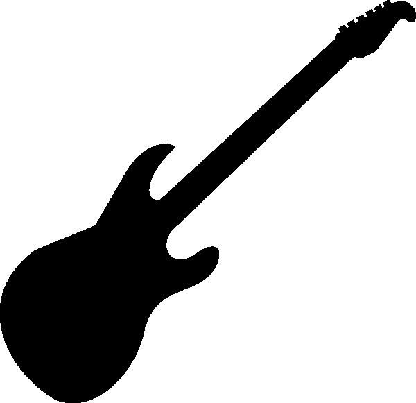 600x581 Guitar Clipart Symbol