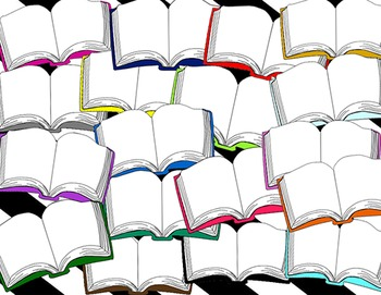 350x271 Books Clip Art Library Labels, Clip Art And Texts