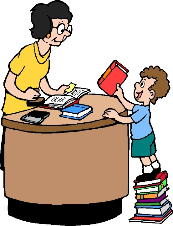 553x720 Clip Art Of Library