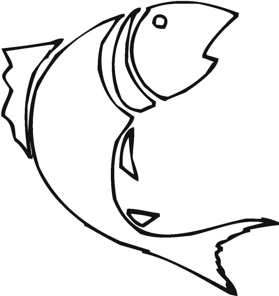 1135x1200 Best Hd Bass Fish Outline Clip Art Design