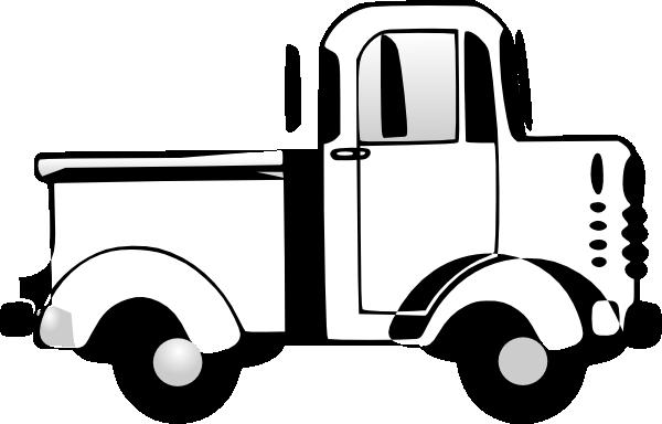 600x384 Truck Clip Art