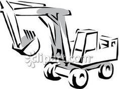 236x176 Dump Truck Clip Art Free Dump Truck Vector Greyscale Conversion