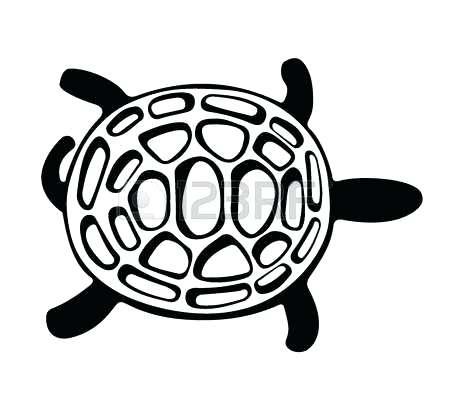 450x400 Turtle Clipart Swamp Turtle Sea Turtle Clip Art Outline Memocards.co