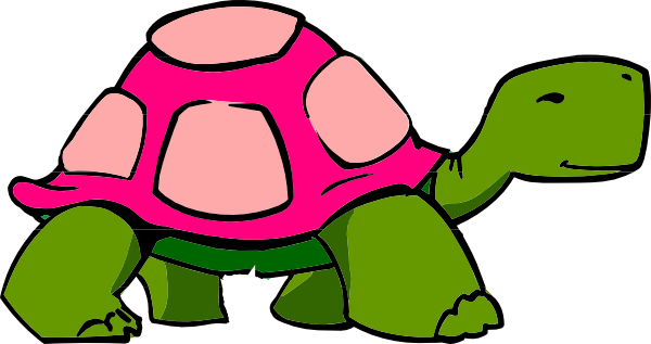600x317 Turtle Clip Art Black And White Free Clipart Images 3