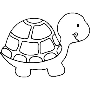 300x300 Turtle Clipart Animal Outline