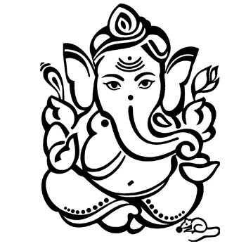 350x350 Hindu Wedding Clipart In Black And White 101 Clip Art On Hindu