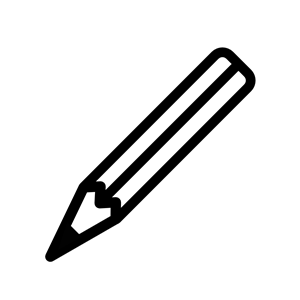 300x300 Crayon Clip Art Black And White Free Clipart Images