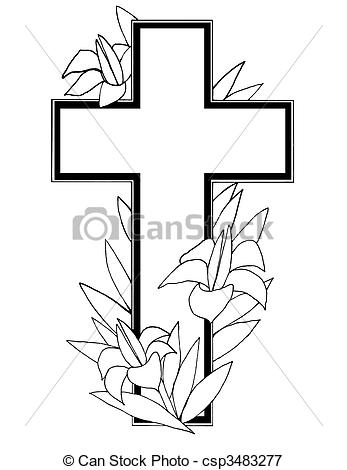 Black And White Cross Images