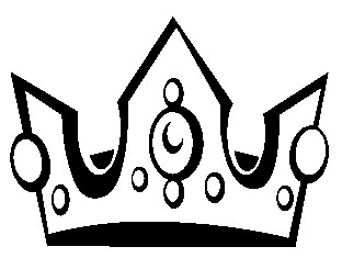 312x245 Black Crown Clipart Free Images