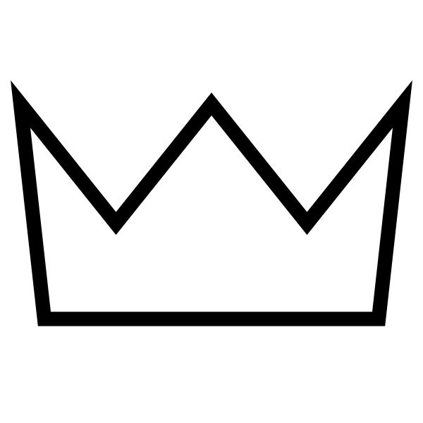 600x600 The Best Crown Outline Ideas Crown Template