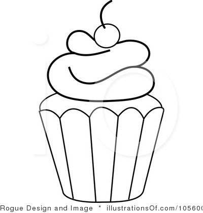 400x420 Frosting Clipart Black Cupcake