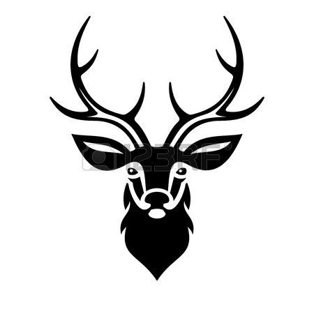 450x450 Deer Clipart Vector