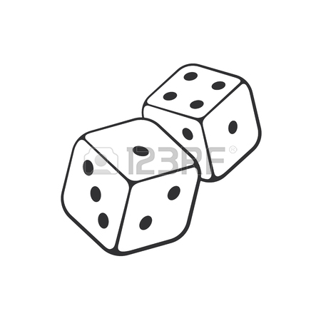 450x450 2,937 Dice Vector Cliparts, Stock Vector And Royalty Free Dice