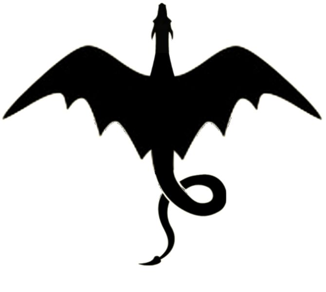 670x600 Best 25+ Dragon silhouette ideas Dragon tattoo