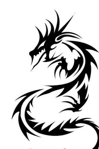 320x480 Best 25+ Dragon tattoo easy drawing ideas Dragon