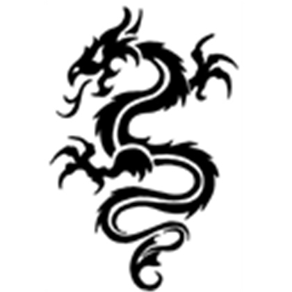 420x420 Black Dragon Tattoos Body Art Black dragon tattoo