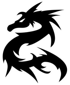 236x286 Dragon tattoo design Tattoo Clipart Design Dragon