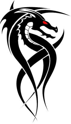 236x414 Tribal Dragon Tattoos Tribal Dragon Tattoo Designs Tattoos