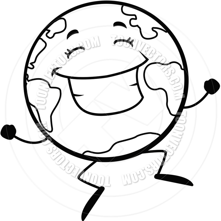 940x940 April Earth Day Clipart Black And White
