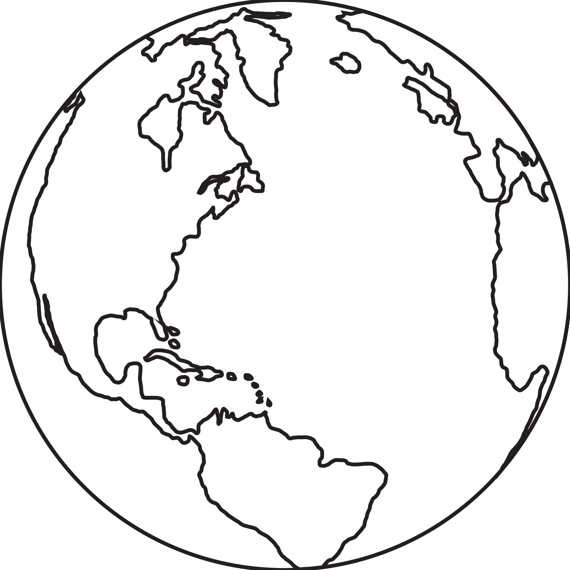 1979x1979 Best Photos Of Earth Drawing Black N White