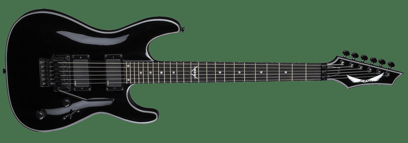 1600x560 Black Electric Guitars