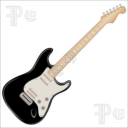 450x450 Electric Guitar Clipart Black And White Clipart Panda