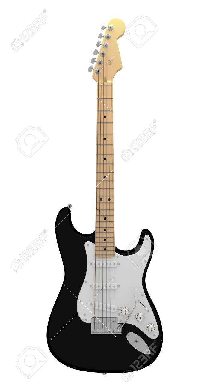 731x1300 Black And White Guitar Collection 45