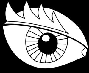 299x243 Eyeball Black And White Eye Clip Art Black And White Eye Image