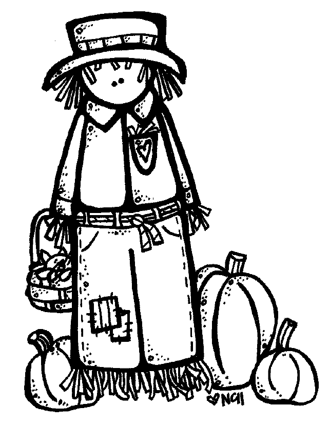 641x828 Happy Fall Clipart Black And White