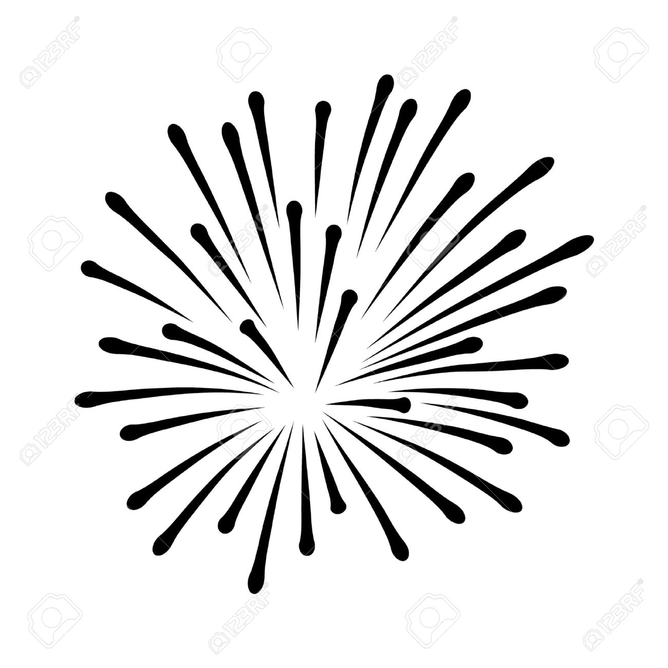 Black And White Fireworks Free Download Best Black And White
