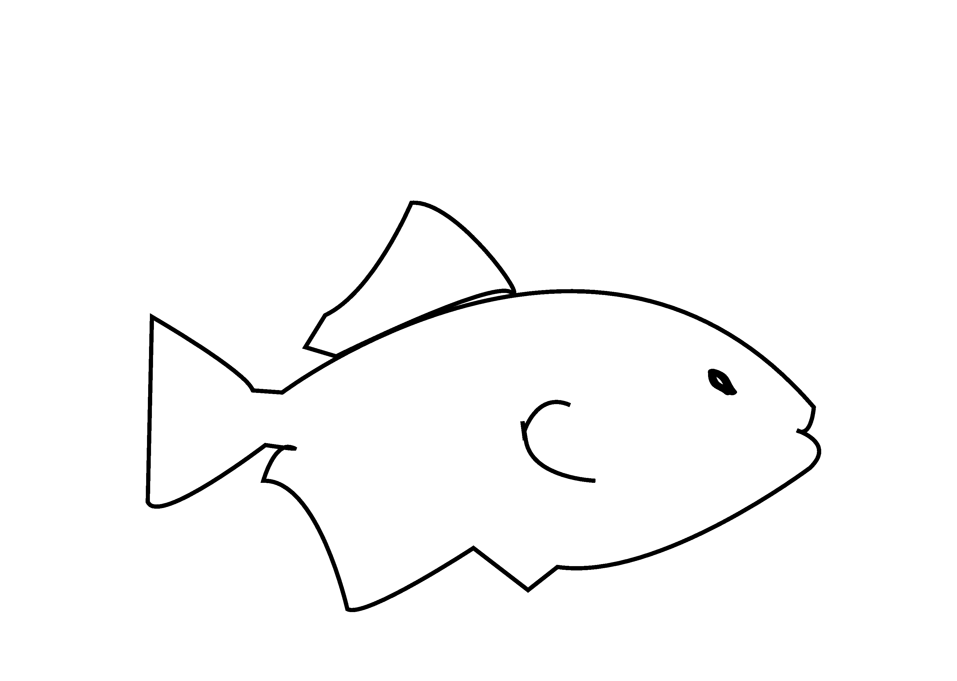 Black And White Fish Images