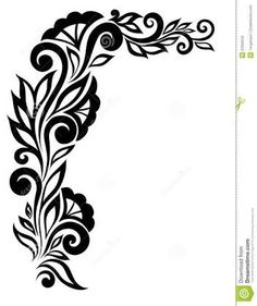 236x281 Black And White Border Designs For Projects