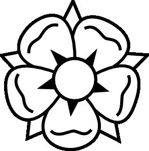 294x298 Flower Tattoo Clip Art