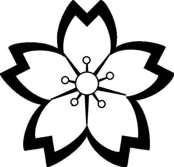 600x576 Mod Flower Blossom Clip Art