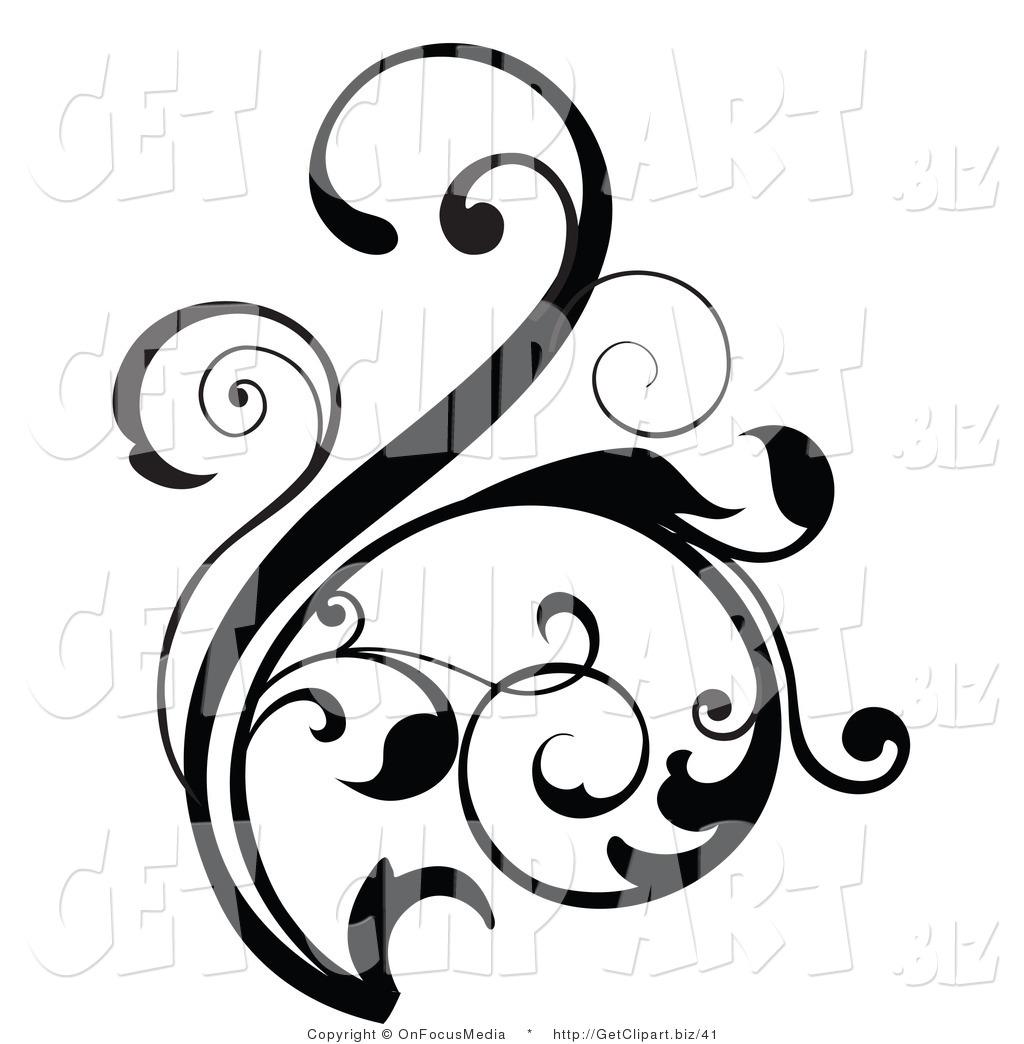 1024x1044 Vine Clipart Flower Scroll