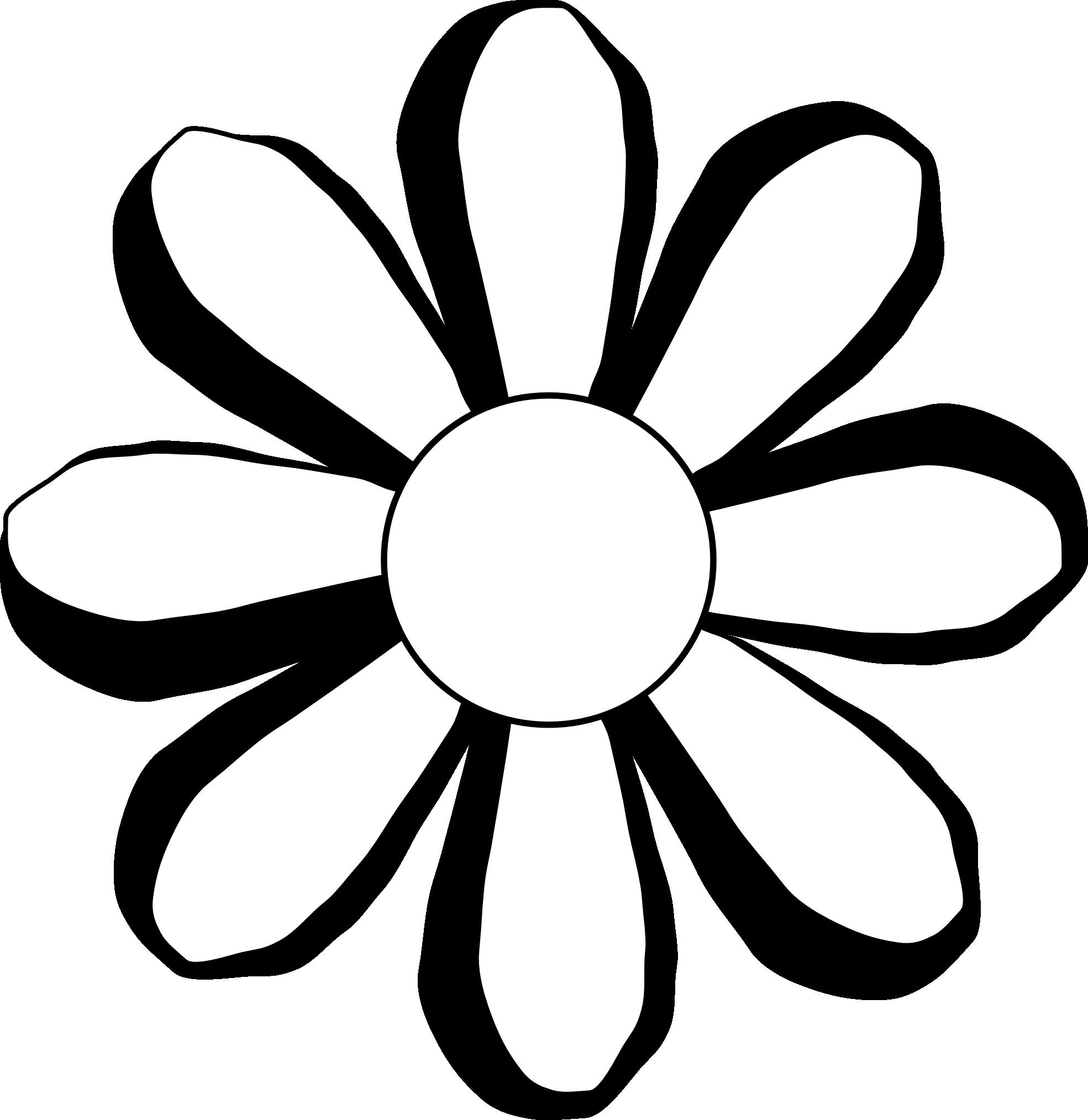 1969x2027 White Flower Clipart Hippie Flower